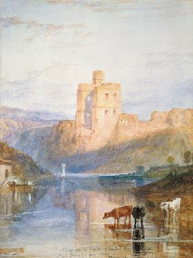 Norham Castle Illustration zu Walter Scott`s Marmion
