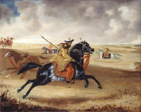 Skinner's Horse at Exercise, c.1840 (oil on canvas)