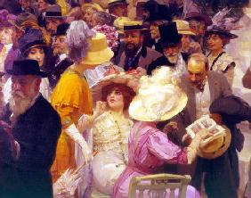 Friday at the French Artists' Salon, 1911 (oil on canvas (detail of 64809)