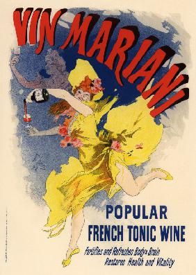 Advertising Poster for Wine Mariani