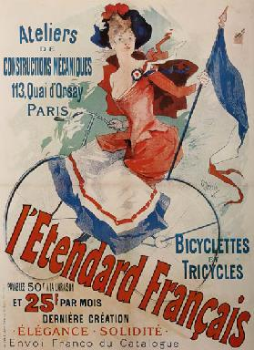 L'Etendard Français Bicycles (Poster)
