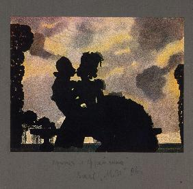 The Kiss (The Prince and the Fräulein)