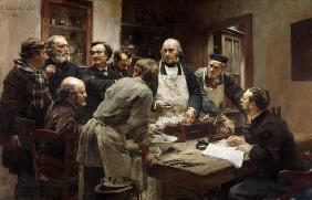 The Lesson of Claude Bernard (1813-78) or, Session at the Vivisection Laboratory