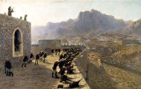 Defence of Dogubeyazit Fortress on 8 June 1877