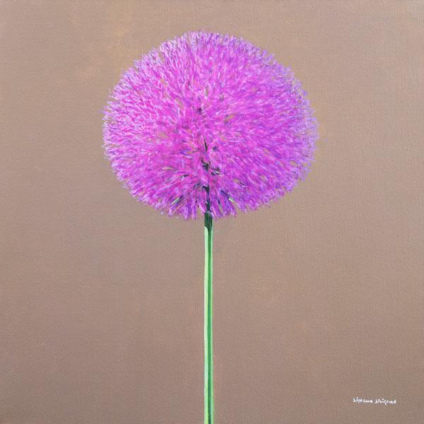 Alium (oil on canvas)