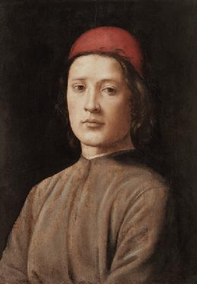 Portrait of a Young Man with a Red Cap
