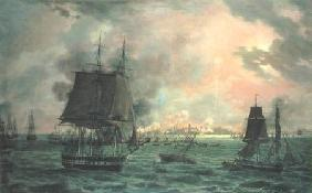 The Bombing of Cadiz by the French on 23rd September 1823