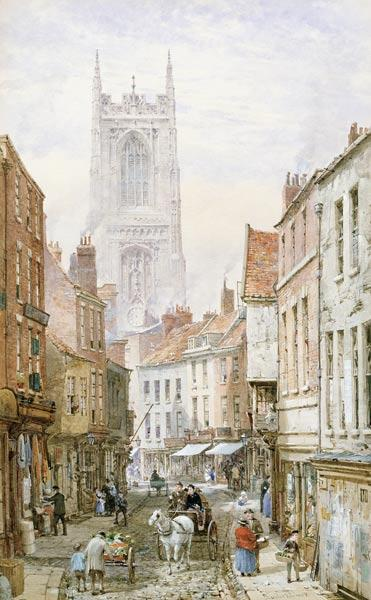 A View of Irongate, Derby