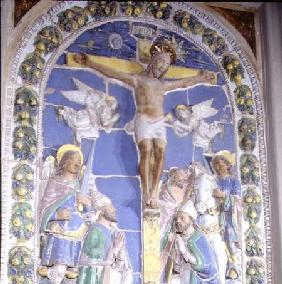 Crucifixion, bas relief