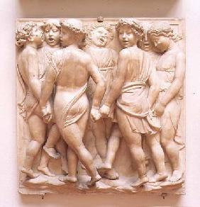 Singing angels, relief panel from the Cantoria