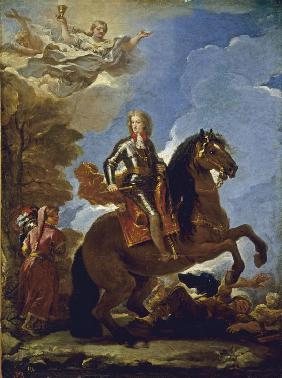 Equestrian Portrait of Charles II of Spain