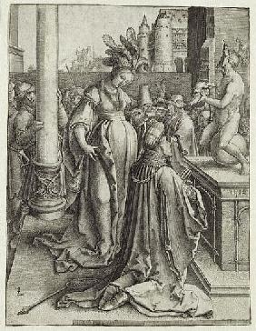 Solomon Prays in front of a Graven Image, c.1514
