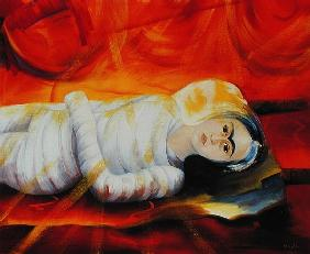 Chrysalis, 2003 (oil on canvas)
