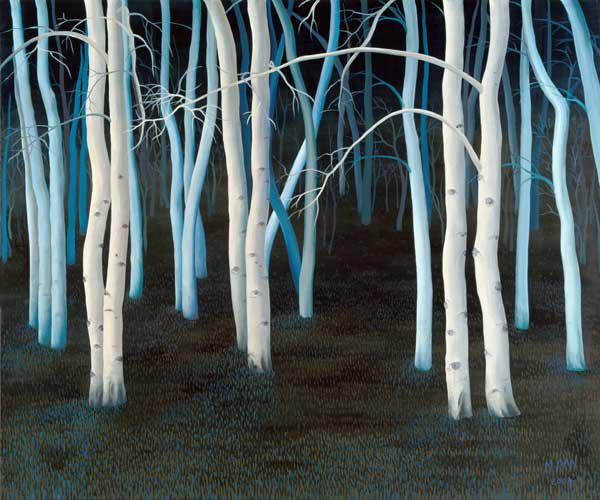 Mystic, 2004 (oil on canvas)
