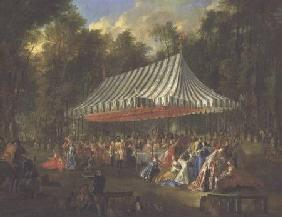 Festival Given by the Prince of Conti to the Prince of Brunswick-Lunebourg at l'Isle-Adam