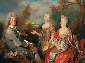 Largilliere / Family Portrait / c.1715