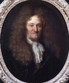 Portrait of Jean de La Fontaine (1621-95)