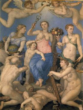 A.Bronzino, Allegory of Happiness