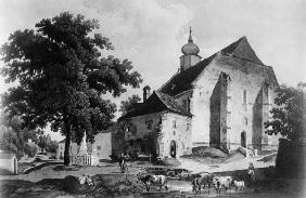 Heiligenstadt / St James church, Etching