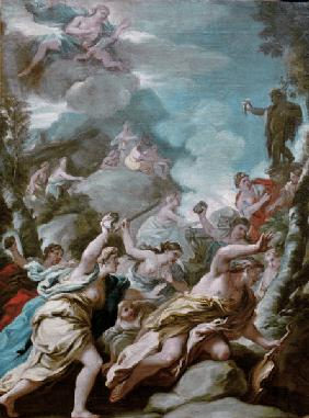 Luca Giordano, / The Death of Orpheus