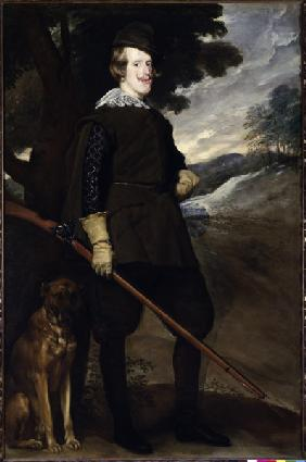 Philip IV as hunter / by Velázquez