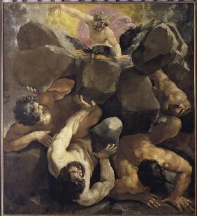 Reni / The Fall of the Titans / c.1636