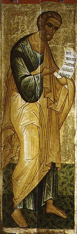 The Holy Apostle Peter, Russian icon from the Deesis of the Church of St. Vlasius