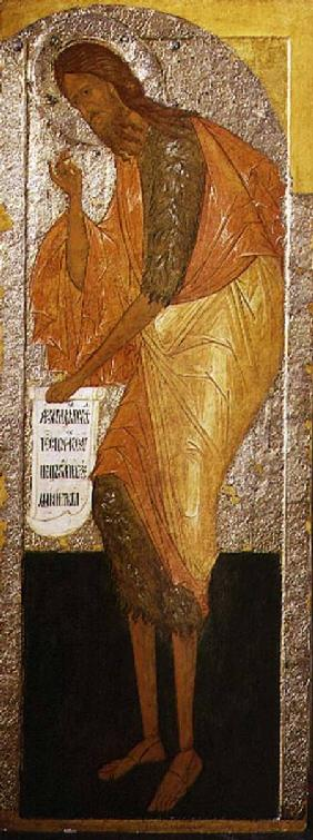St. John the Forerunner, Russian icon from an iconostasis in the Antoniev Monastery
