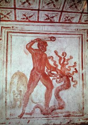 Hercules Fighting the Lernaean Hydra