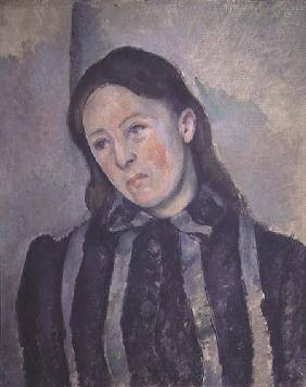 Portrait of Madame Cezanne with Loosened Hair