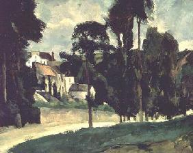 The Road at Pontoise