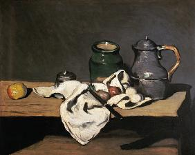 Still Life with a Kettle c.1869