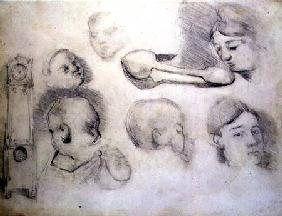 Studies of a Mother and Child