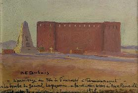 The Hermitage of Father Charles Eugene de Foucauld (1858-1916) at Tamanrasset, 1928