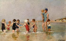 Children Bathing