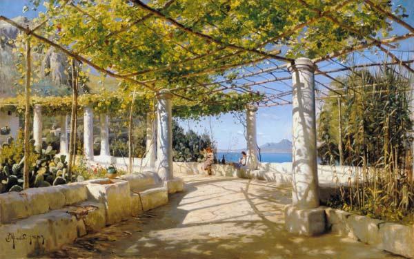 De school van athene rafaello rafaello santi als kunstdruk of als handgeschilderd - Pergola met intrekbaar canvas ...