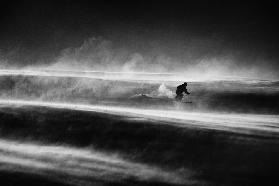 Race against the time and wind