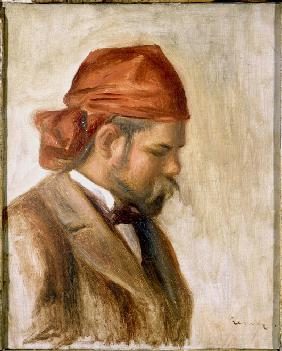 Ambroise Vollard in a Red Bandana