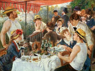 Luncheon at the Boating Party -