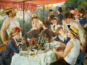 Luncheon of the Boating Party Renoir 1881