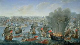 Naval Battle with the Spanish Fleet
