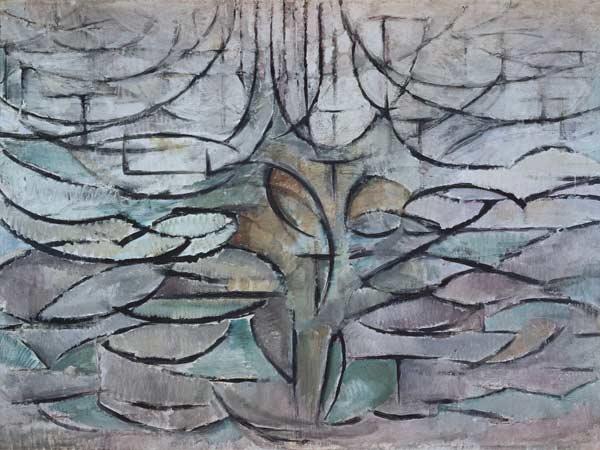 bloeiende appelboom piet mondriaan als kunstdruk of als handgeschilderd olieverfschilderij. Black Bedroom Furniture Sets. Home Design Ideas
