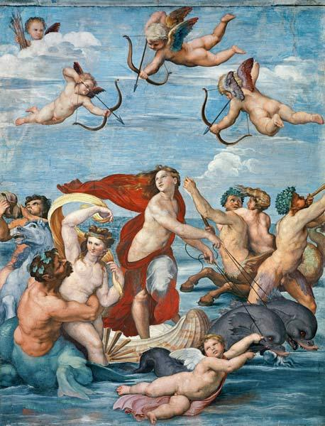 De triomf van Galatea /The triumph of the Galatea
