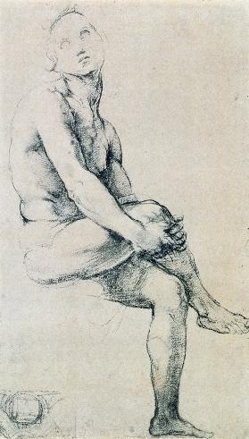Study of Adam for the 'Disputa'