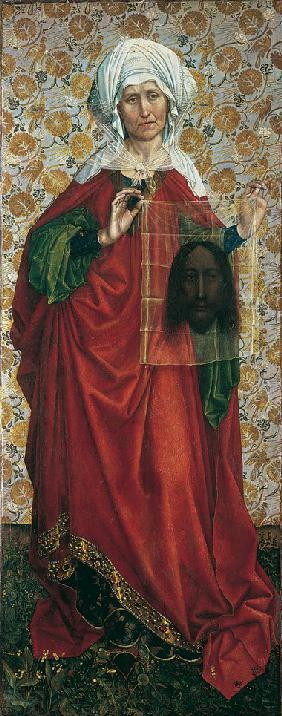 The Flémalle Panels: Saint Veronica