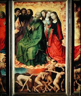 The Last Judgement, the entrance of the damned into hell