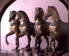 The Four Horses of San Marco, removed from the exterior in 1979