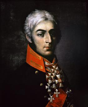 Portrait of Prince Peter Bagration (1765-1812) Russian general