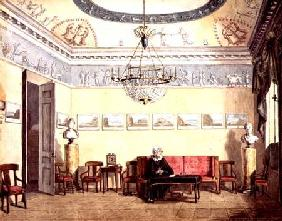 Neo-Classical Sitting Room