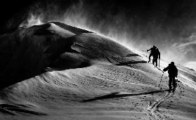 Windy mountain